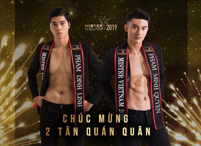 Phạm Đình Lĩnh và Phạm Minh Quyền chính thức dắt tay nhau lên ngôi quán quân Mister Việt Nam 2019.