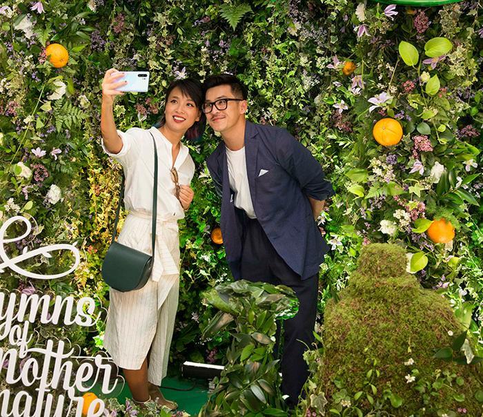 Nhiếp ảnh gia Thiên Minh và VJ Thuỳ Minh