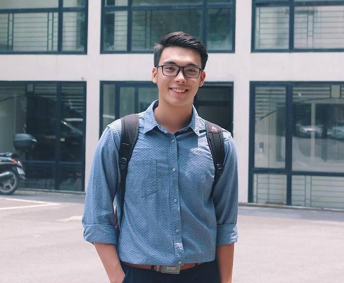 Khi còn đi học, anh chàng là Bí thư Đoàn đồng thời là Ủy viên Ban thường vụ Đoàn TNCS Hồ Chí Minh của ĐH Luật Hà Nội