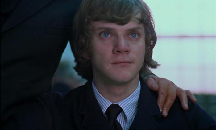 Malcolm McDowell thời trẻ.