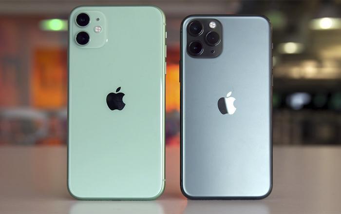 Bộ đôi iPhone 11 và iPhone 11 Pro. (Ảnh: Engadget)