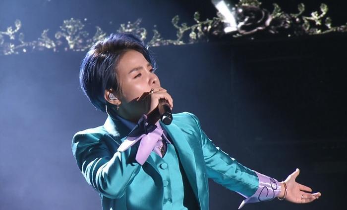 Nữ ca sĩ thể hiện sáng tác của mình mang tên If với 3 thứ tiếng Anh – Việt – Hàn.