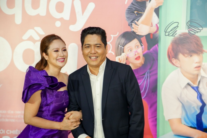 Vợ chồng đạo diễn Đức Thịnh - Thanh Thúy.
