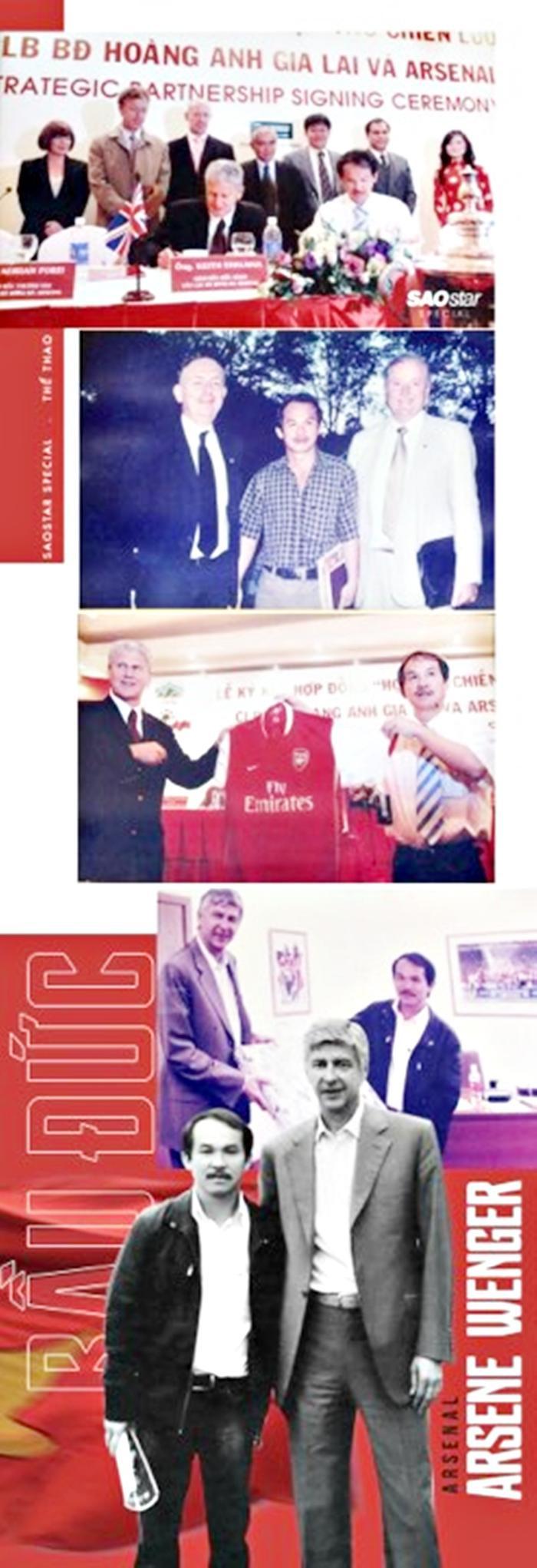 Học viện bóng đá HAGL - Arsenal - JMG có một vị trí đặc biệt trong lịch sử bóng đá nước nhà.