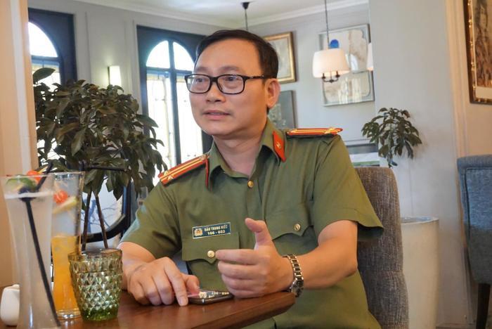 Trung tá Đào Trung Hiếu - Chuyên gia phân tích tâm lý tội phạm học (Bộ Công an).