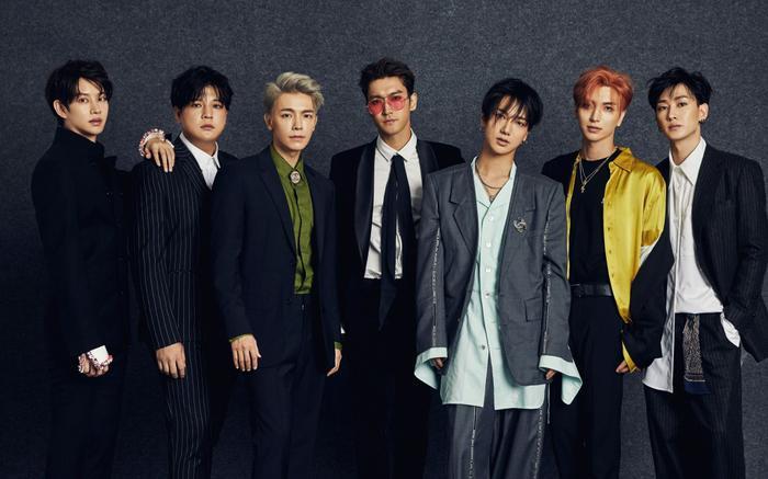 Nhóm Super Junior.