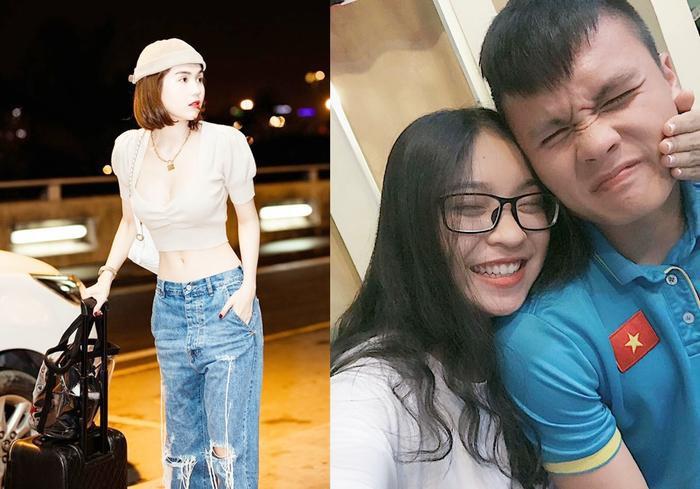 Nghịch lý lớn khi vòng eo không tỳ vết của Ngọc Trinh có sức hút hơn cả ngày Quang Hải và CLB Hà Nội vô địch V.League 2019.