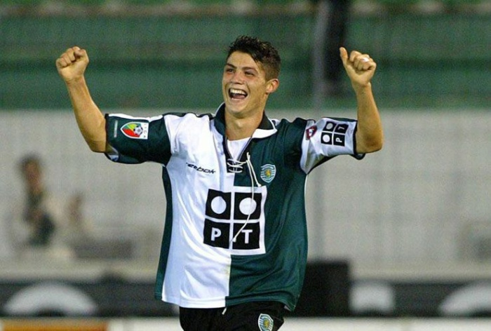 Siêu sao người Bồ Đào Nha khi còn là cầu thủ trẻ