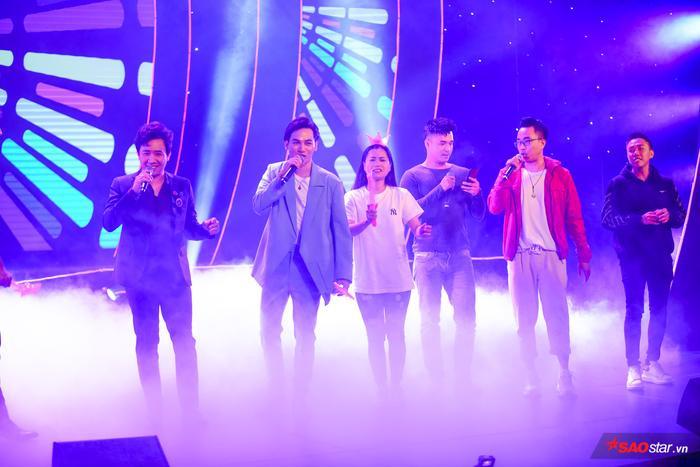 Trấn Thành rủ rê nguyên biệt đội Ali Hoàng Dương, Anh Đức, Trương Thế Vinh, Lâm Vỹ Dạ,… lên sân khấu trong ca khúc Sau tất cả.