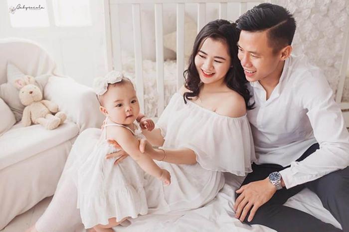 Gia đình hạnh phúc của Quế Ngọc Hải.