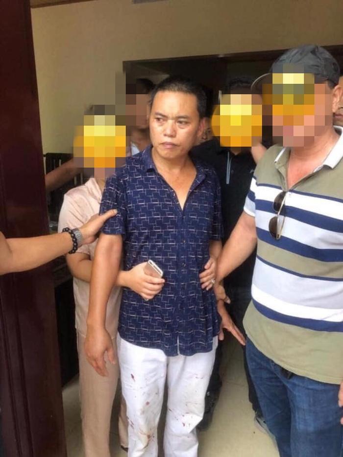 Nghi phạm gây án bị cơ quan công an bắt giữ. Ảnh Facebook Laocaionline