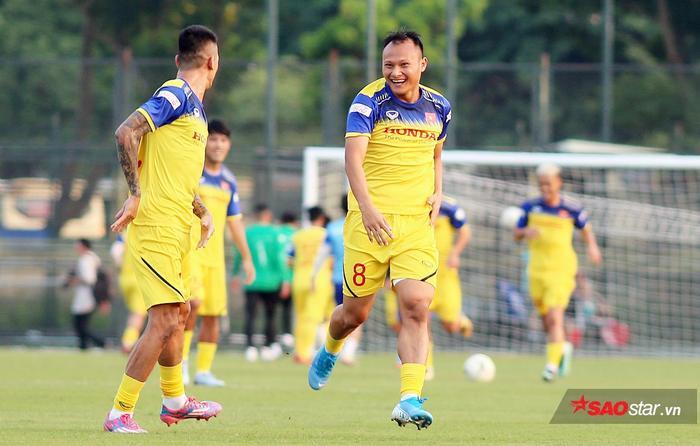 HLV Lê Thụy Hải nhận định mùa thu 2019 ở Hà Nội đang thuận lợi cho tuyển Việt Nam.