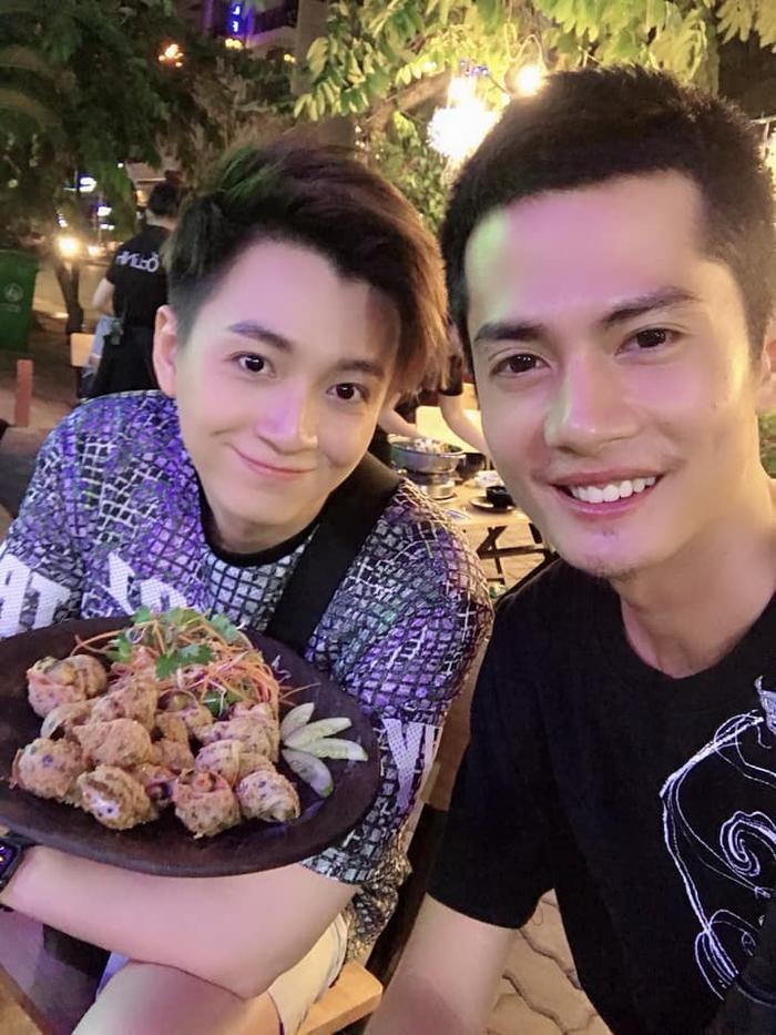 Huỳnh Phương và Ngô Kiến Huy thường cùng nhau đi ăn…