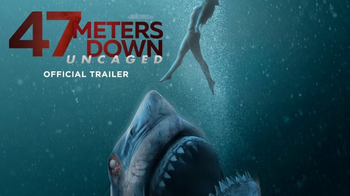 "Poster của ""47 Meters Down: Uncaged""."