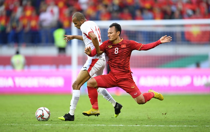 ĐT Việt Nam thắng Jordan tại tứ kết Asian Cup 2019.