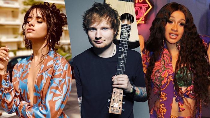 Bộ ba Camila Cabello, Ed Sheeran và Cardi B chuẩn bị ra mắt MV mới.