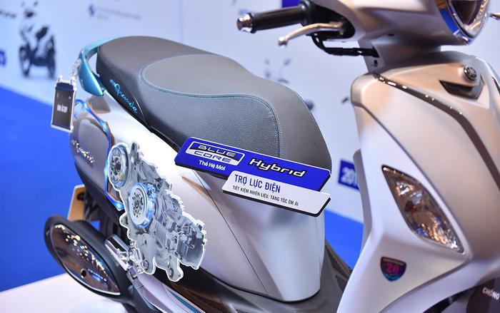 Động cơ Blue Core của Yamaha lần đầu xuất hiện tại VN năm 2014.