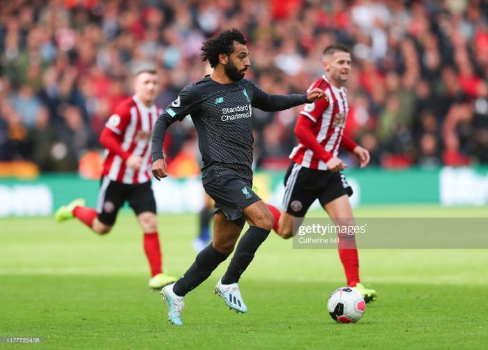 Salah cùng đồng đội giành trọn 3 điểm trước Sheffield.