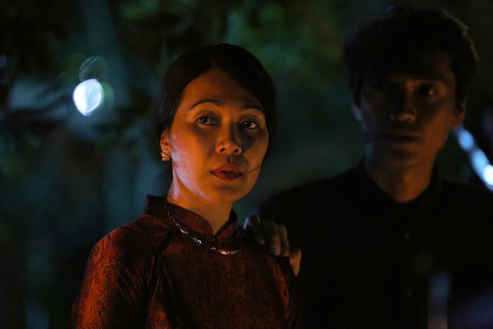 Review phim Thất Sơn tâm linh: Không jump-scare mà vẫn nghẹt thở, Hoàng Yến Chibi diễn vai câm điếc xuất thần bằng ánh mắt ảnh 13