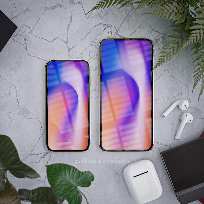 """Ấn tượng đầu tiên về iPhone 12 chính là màn hình tràn viền 6.7 inch không có """"tai thỏ"""".Đầu năm nay, nhà phân tích nổi tiếng Ming-Chi Kuo cũng từng cho biết Apple đang lên kế hoạch tái thiết kế lại loạt iPhone đời 2020, với các kích thước màn hình là 5.4 inch, 6.1 inch và 6.7 inch."""