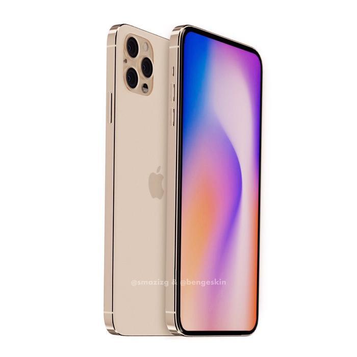 Về cấu hình phần cứng, iPhone 12 sẽ được trang bị chip xử lý Apple A14 dựa trên quy trình 5nm, hỗ trợ 5G và sử dụng cổng USB Type-C thay vì Lightning. Tất nhiên đây chỉ thông số phỏng đoán của nhà thiết kế Ben Geskin.
