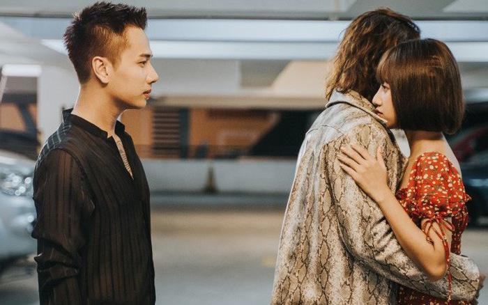 Chuyện tình tay ba ngang trái được Lou Hoàng truyền tải trong MV đã tạo sự chú ý không nhỏ cho khán giả.
