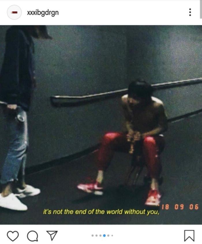 G-Dragon mới đây đã chia sẻ một loạt những bức ảnh trên Instagram của mình.