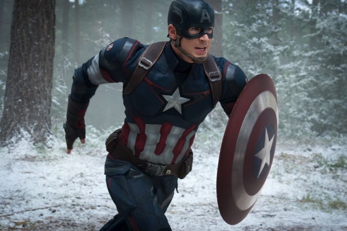 Khiên của Cap trên phim ảnh.