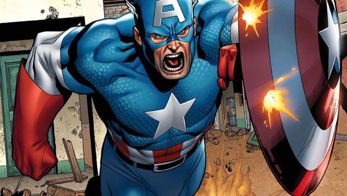 Chiếc khiên của Cap trong truyện tranh chỉ có một phần nhỏ là Vibranium.