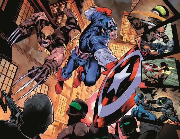 Khán giả vẫn rất mong chờ sự kết hợp giữa hai nhóm siêu anh hùng nổi bật nhất Marvel trên màn ảnh rộng.