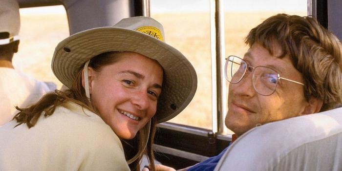 Bill Gates và Melinda kết hôn năm 1994. (Ảnh: Twitter)