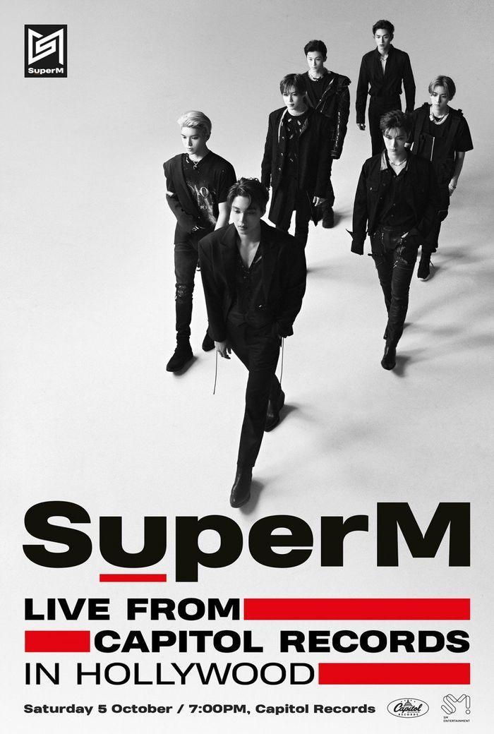 SuperM sẽ có sân khấu debut tạiCapitol Records Tower in Hollywood, California, Mỹ vào ngày 5/10.