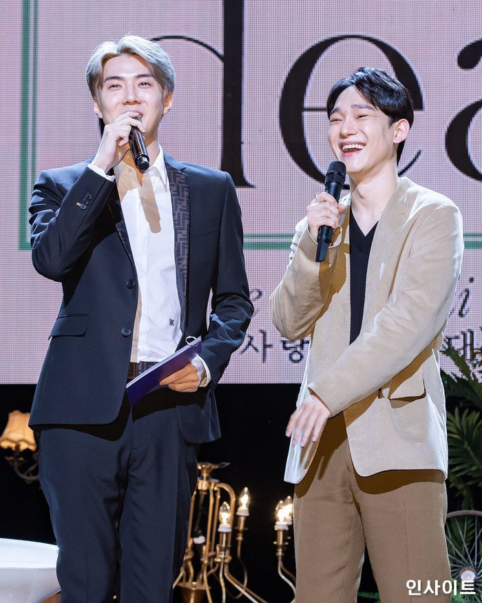 Chính Sehun đã đề nghị giúp Chen làm MC.