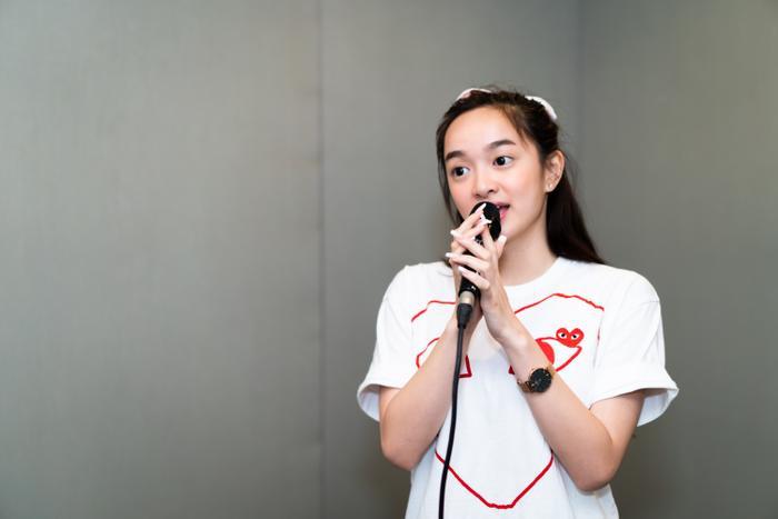 Sau thành công với nghiệp diễn xuất, Kaity Nguyễn ấp ủ dự định lấn sân ca hát.