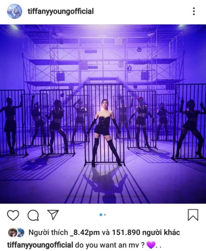Tiffany Young hé lộ những hình ảnh đầu tiên cho màn comeback sắp tới của mình.