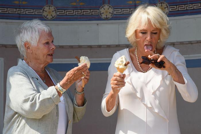 Hoàng gia cũng thích kem lắm đấy nhé!