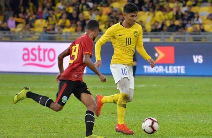 Shahrel Fikri đang là chân sút tốt nhất bên phía ĐT Malaysia ở vòng loại World Cup 2022 khu vực châu Á.