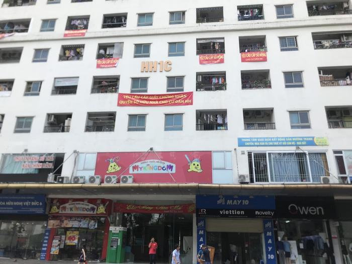 Hàng vạn cư dân chung cư Linh Đàm đều mong muốn sớm có sổ hồng, họ cũng đã chờ đợi suốt nhiều năm qua.