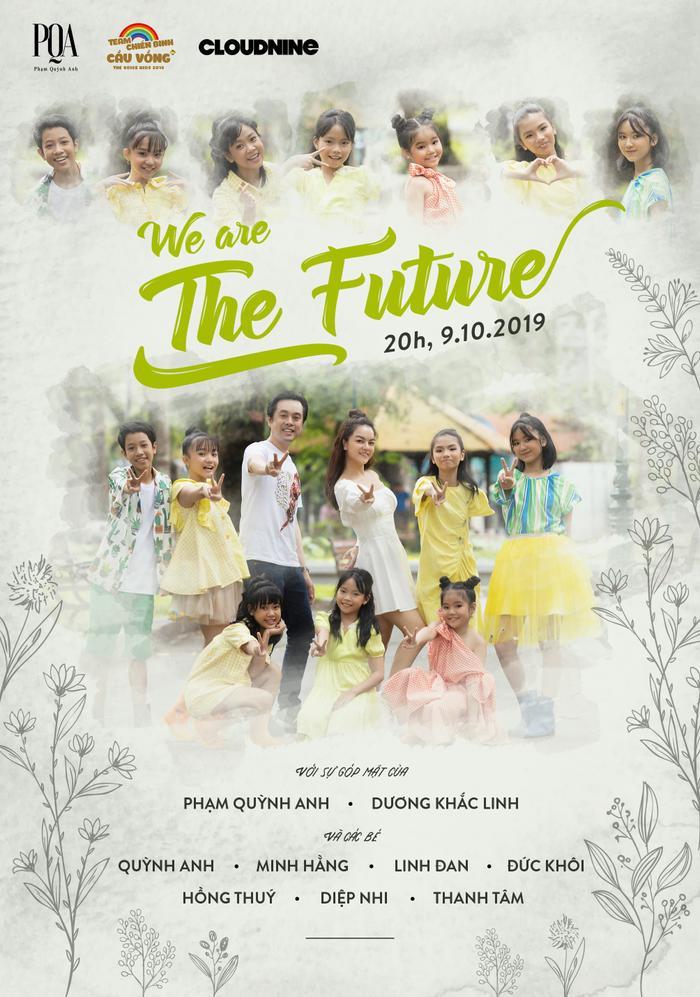 Poster sản phẩm âm nhạc sắp ra mắt của Team Cầu Vồng.