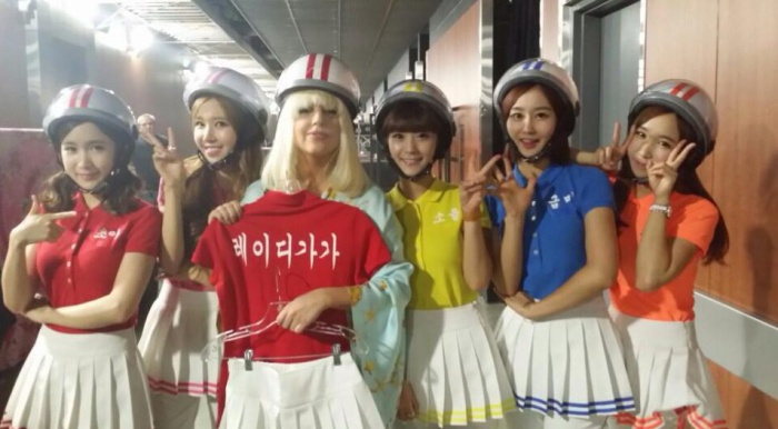 Lady Gaga cùng Crayon Pop