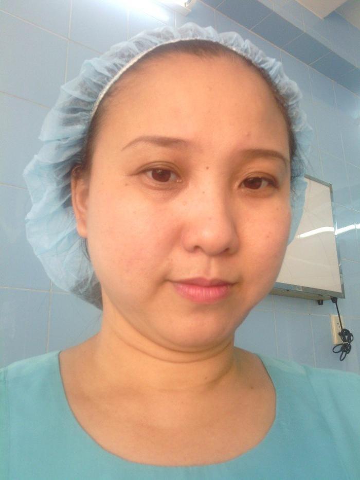 Dù đẹp hay xấu, dù tóc ít hay tóc nhiều, chị Tuyết vẫn selfie với tinh thần yêu đời, tràn đầy sức sống nhất.