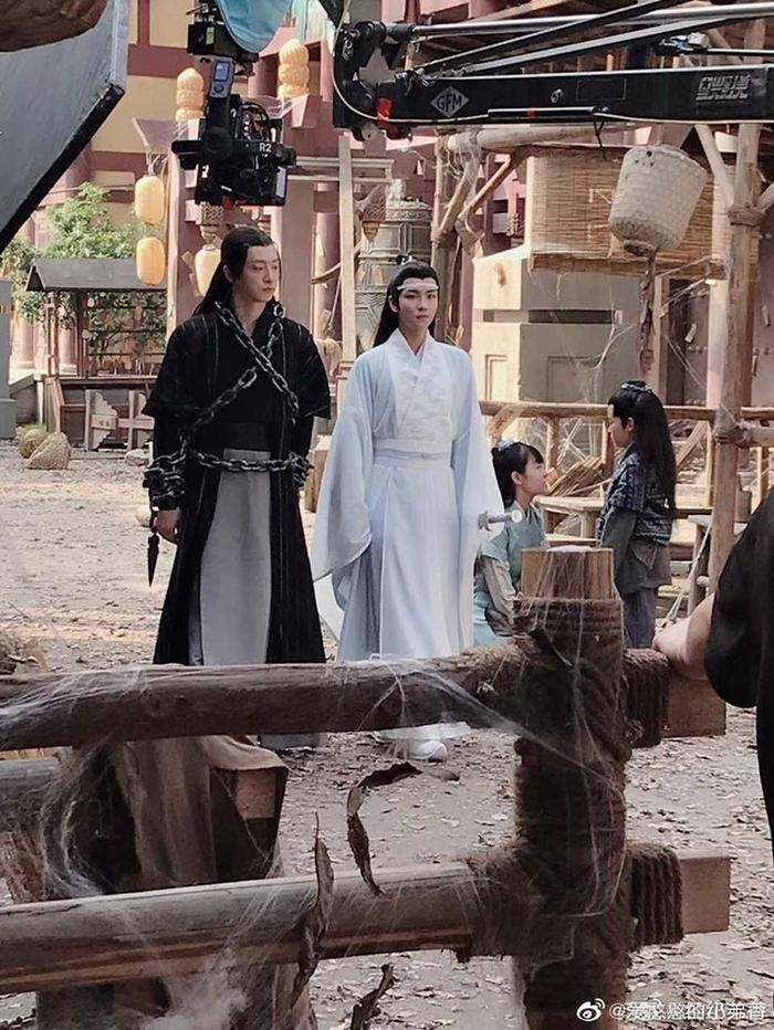 Trần Tình lệnh chi Sinh Hồn tung những bức ảnh đầu tiên của nhân vật Ôn Ninh và Lam Tư Truy/ Ôn Uyển ảnh 0