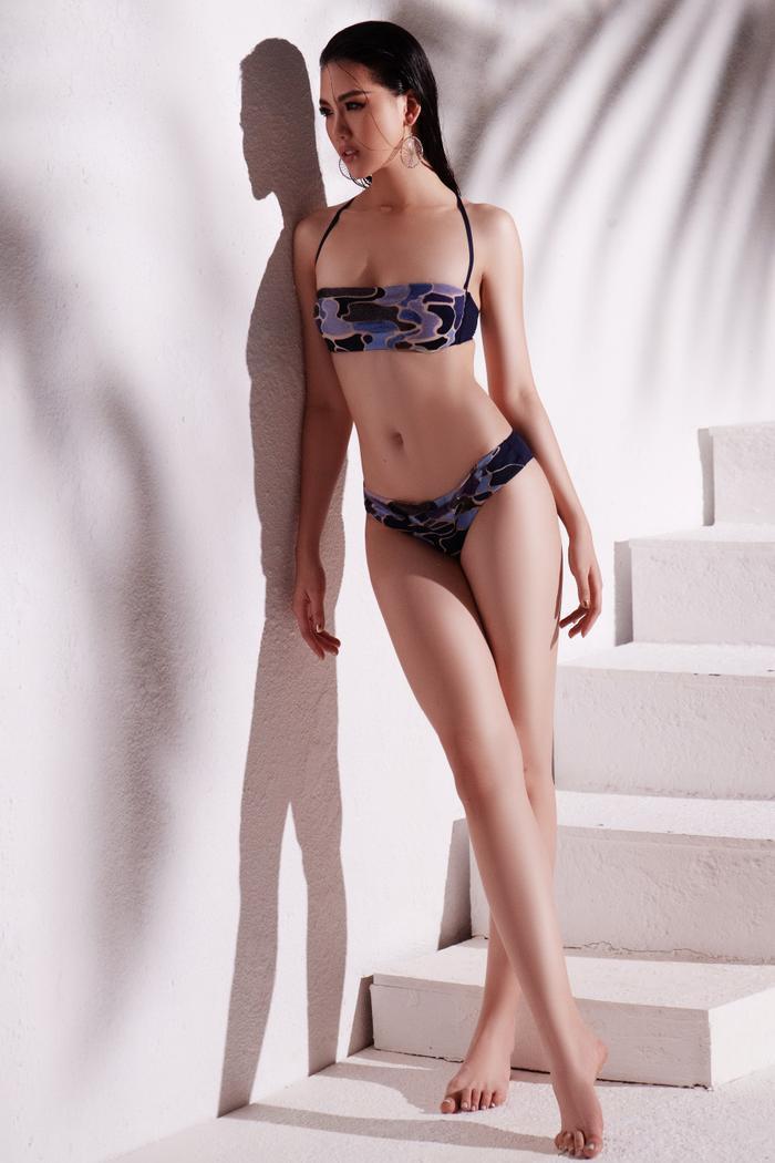 Siêu mẫu Quỳnh Hoa khiến người đối diện say như điếu đổ khi diện bikini ảnh 6