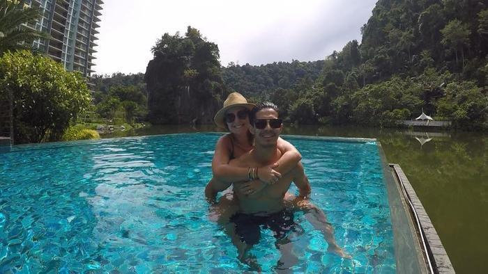 Cuộc sống hôn nhân của tiền vệ ĐT Malaysia đang vô cùng hạnh phúc.