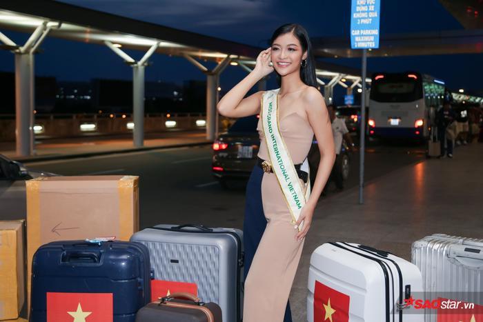 Quyết tâm như Kiều Loan: Xa mặt đất 30 tiếng, học thuộc bài thuyết trình Top 10 Miss Grand Int 2019 ảnh 1