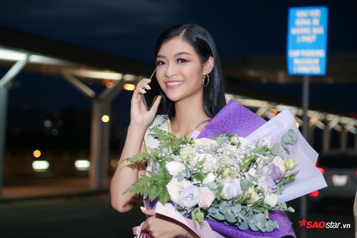 Quyết tâm như Kiều Loan: Xa mặt đất 30 tiếng, học thuộc bài thuyết trình Top 10 Miss Grand Int 2019 ảnh 2