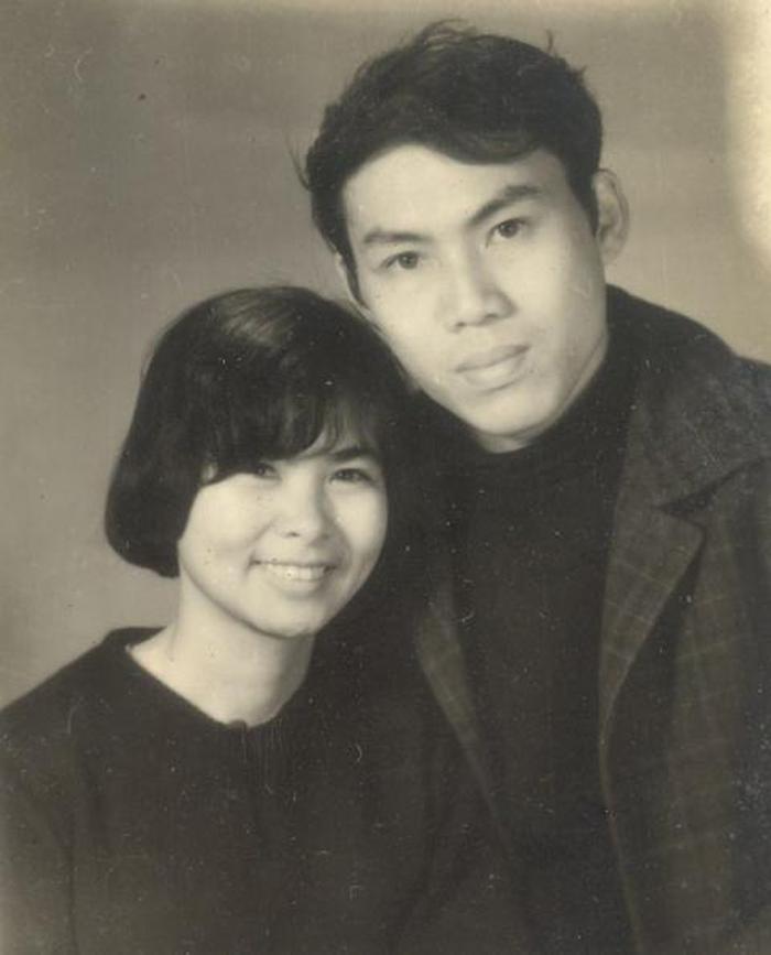 Nữ thi sĩ Xuân Quỳnh và Lưu Quang Vũ.