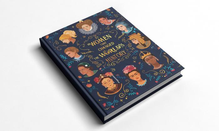 """Sách ảnh """"10 Phụ Nữ Thay Đổi Lịch Sử Thế giới"""" của Jean-Michel Billioud được phát hành bởi NXB Auzou Editions."""