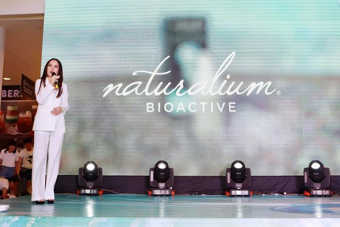 Bà Dương Thì Thanh Mai - Giám đốc thương hiệu Naturalium tại Việt Nam.