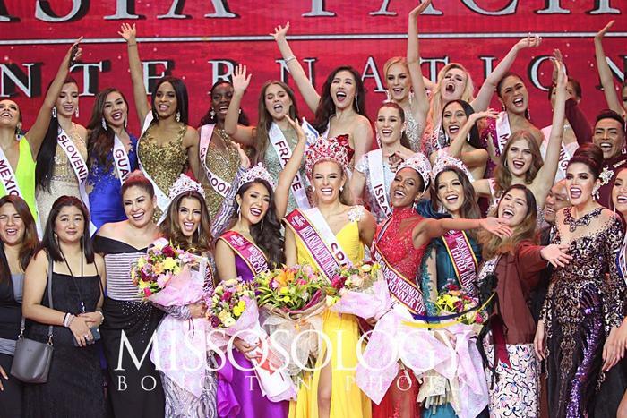 Mỹ nhân Tây Ban Nha cao 1m8 đăng quang Miss Asia Pacific Int 2019, Thu Hiền out-top ngỡ ngàng ảnh 7